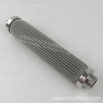 Stainless Steel Filter Medium Pleated Filter Element