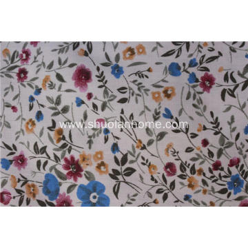 TC 90% polyester 10% cotton fabric printed