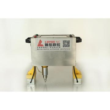 Dot Peen Marking Machine on Pipe