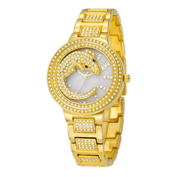 Super Purchasing for Stainless Women'S Watches High-Grade Quartz Crocodile Round Waterproof Watches supply to United States Manufacturers