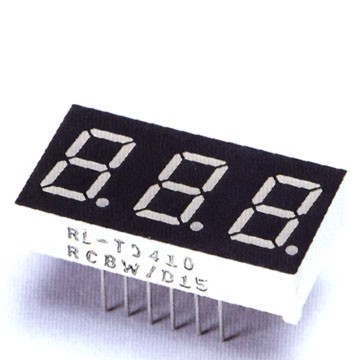 0.36 Inch Triple Digit LED Display