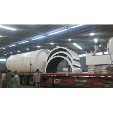 Hot Sale for Tires Pyrolysis Machine vertical cooling waste tire pyrolysis machine supply to Western Sahara Manufacturers