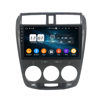 Klyde Android Autoradio per CITY 2006-2013