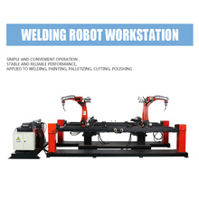 Bottom price for Robot Scaffolding Automatic Welding Machine, Industrial Welding Robots,Door Frame Scaffolding Welder Supplier in China Robot Welding Workstation for Kwikstage Ledger export to Greece Supplier