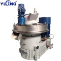 YULONG XGJ560 furniture waste pellet press machine