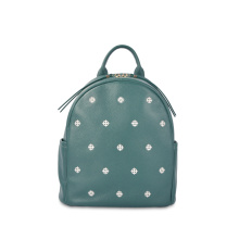 Hot Sale Light Weight Durable Mini Leather Backpack