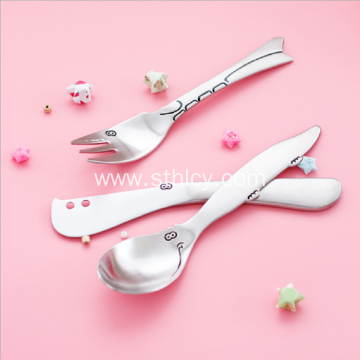 Children's Cartoon Cutlery Spoon