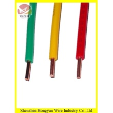 Single solid core pvc wire 1.5mm/2.5mm bv wire cable