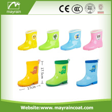 High Quality Children Kids PVC Yellow Rain Boots
