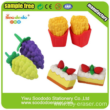 Food Shaped Wholesale Cute Eraser