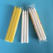 Top Quality for 50-55Gram Fluted Candle Colored Fluted Large Size Candle for Afria Market supply to Guatemala Suppliers