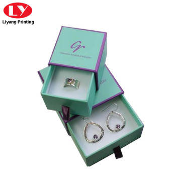 Beautiful Ring Paper Gift Box Drawer