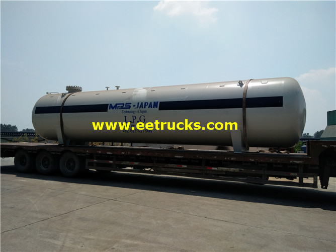 Industrial Propane Storage Tanks