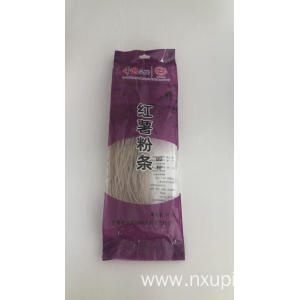 Sweet potato starch noodles plain round noodles