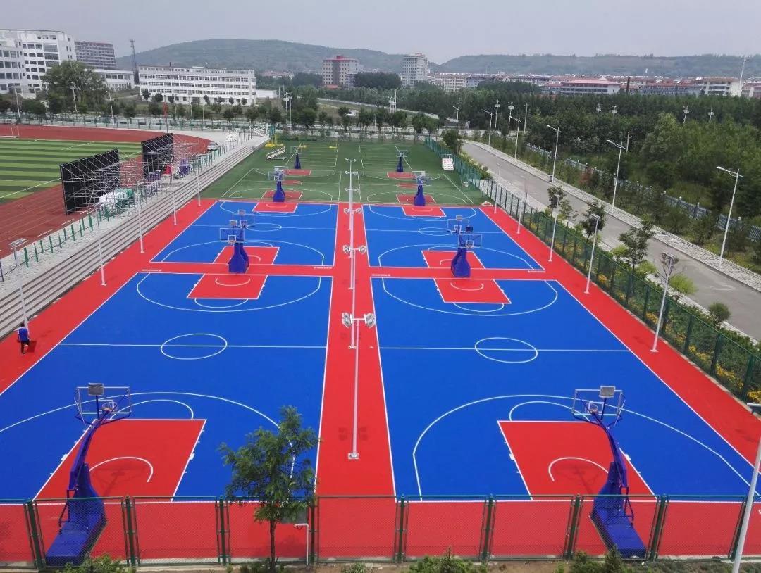Sports Interlocking Court Tiles For School