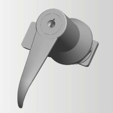 ZDC LH&RH Turning L-Handle Cabinet Locks