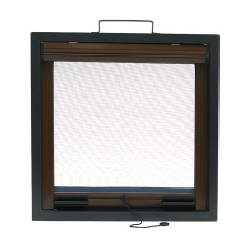 China for Aluminum Retractable Roll Screen Retractable window with aluminum frame R0961 supply to United States Wholesale