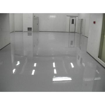 Solvent-free transparent epoxy resin varnish