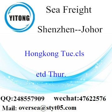 Shenzhen Port LCL Consolidation To Johor