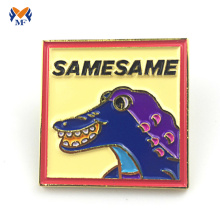 Popular Design for for Custom Enamel Badges Gifts metal logo soft enamel lapel pins supply to Egypt Wholesale