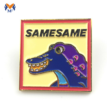Gifts metal logo soft enamel lapel pins