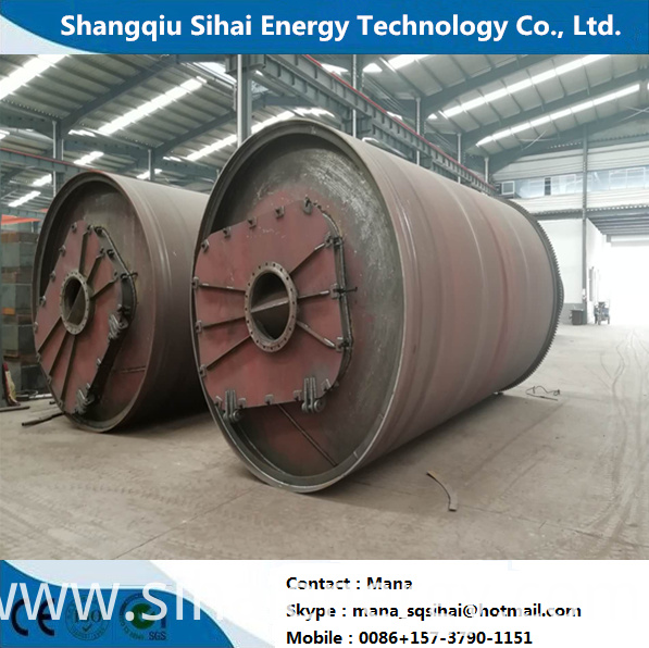 Pyrolysis Plant To Steel Wire