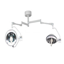 Fast Delivery for Double Dome Operating Room Lamp ISO approved halogen shadowless operating lamp supply to Pakistan Wholesale
