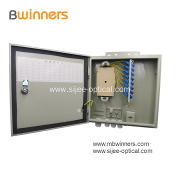 Outdoor Wall mounted Optic Distribution Box 24 Cores SC\PC SC\APC