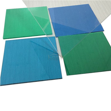 Protection Pc Solid Panel Uv Protected Polycarbonate Sheet