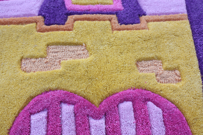 Kids Rug with House Shape