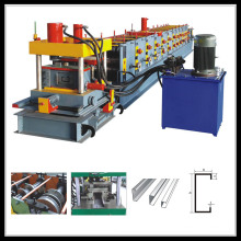 Strut Galvanized U Beam Steel C Channel Purlin Roll Forming Machine