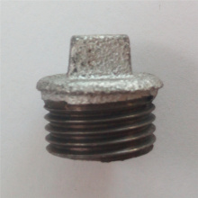 malleable iron fittings plain plug