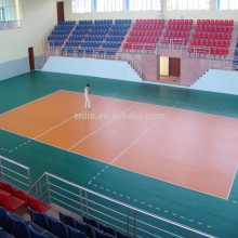 Special for Supply Volleyball Sports Flooring,PVC Volleyball Sports Flooring to Your Requirements Enlio Vinyl Volleyball Floor Mat supply to Indonesia Factories