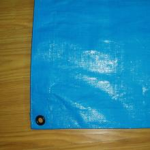 Factory made hot-sale for China Blue PE Tarpaulin,Blue PE Tarpaulin Sheet,Blue Poly Tarpaulin,Blue Waterproof PE Tarp Manufacturer Heavy duty blue PE tarpaulin export to Portugal Wholesale