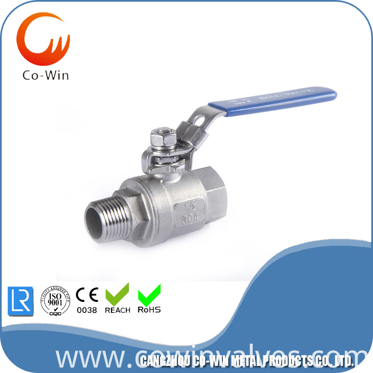 2PC Ball Valve 1000WOG
