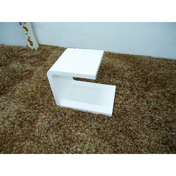 Chinese Professional for Sofa Side Table Contemporary small white wooden side table supply to France Suppliers