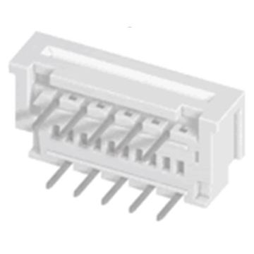 1.25mm FPC Connector ZIF DIP Right angle Dual