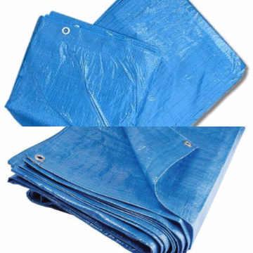 HDPE woven tarpaulin with customized size