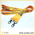 Promotional neck strap jacquard woven cotton lanyard