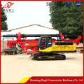Lowest price spiral rawler hydraulic pile driver
