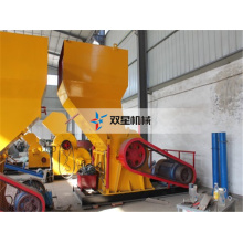 Waste Tire Rubber Recycling Crusher Machine for Sale