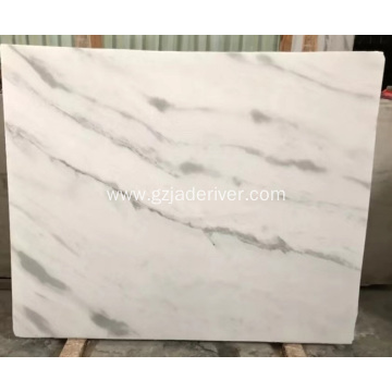 Taiji White Marble Stone for Decoration
