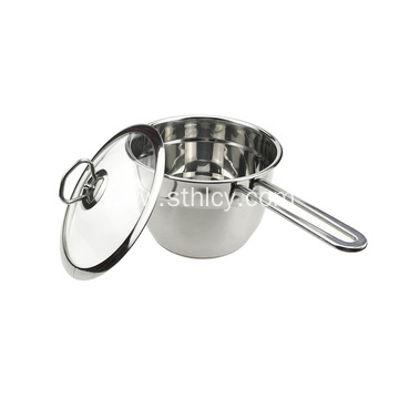 Mini Stainless Steel Induction Cooker With Lid