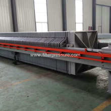 Effluent Sewage Treatment Plate Frame Filter Press