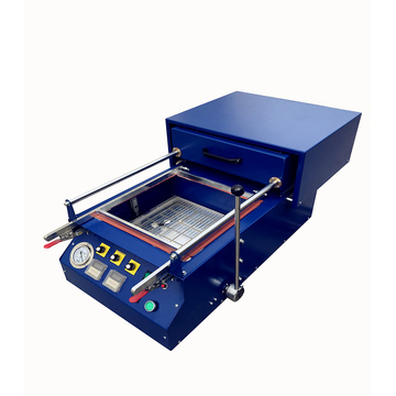 Table top vacuum forming machine