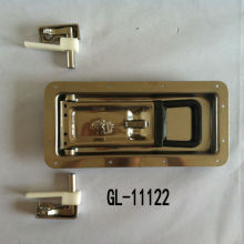 Recessed Cargo Trailer Door Lock Stainless