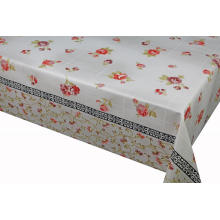 Elegant Tablecloth with Non woven backing Vinyl l