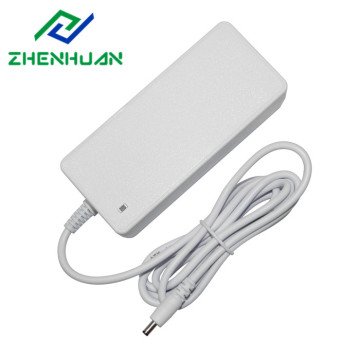 White dc 12v 5a desktop power supply 60w