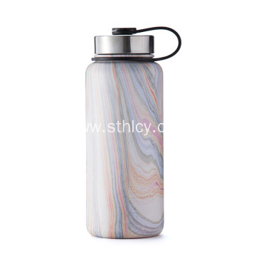 Vacuum sports stainless steel water bottle