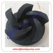 Factory Free sample for Dredge Gravel Slurry Pump Open rubber slurry pump impeller export to Saudi Arabia Factories